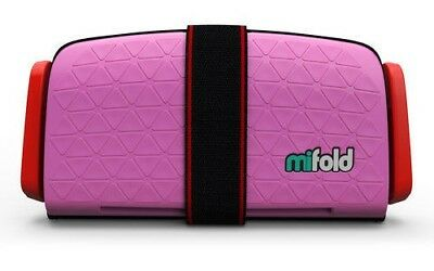 Mifold MF01-US/PNK Grab-and-Go Car Booster Seat Perfect Pink