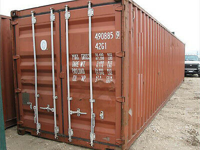 20ft used shipping container in cargo-worthy condition, Houston, Texas