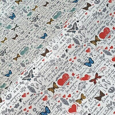 Stunning 100/% Cotton Paris Shabby Chic Vintage Ribbon 1 Metre Gifts Crafts etc