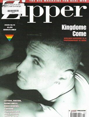 Vintage Gay Magazine - Zipper Magazine No 19