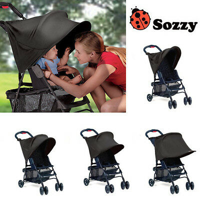 Pram Shade Stroller Sun Cover Buggy Canopy Pushchair UV Protection Summer Infant