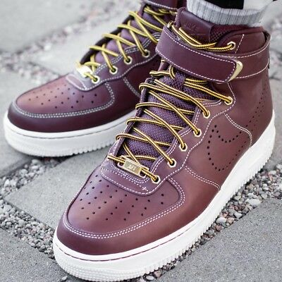 on sale 2ab91 93fb6 NIKE AIR FORCE 1 HIGH 07 LV8 WB chaussures hommes montantes sport 882096-600