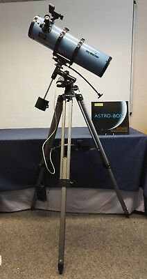 Sky-Watcher 130 Explorer Reflector Telescope with Right Ascension tracking motor