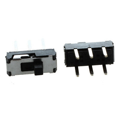 20 Pcs On/Off/On DPDT 2P2T 6 Pin Vertical DIP Slide Switch 9x4x3.5mm A9K6