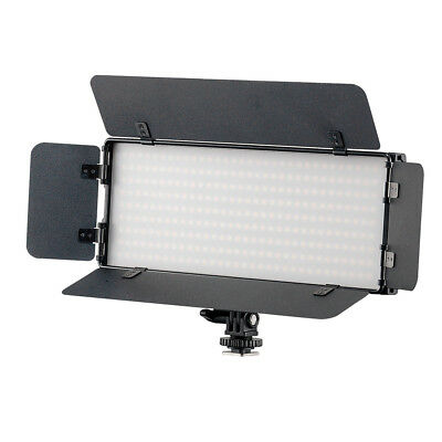 On Camera LED Light Portable Continuous Battery Powered Dimmable Panel Lighting
