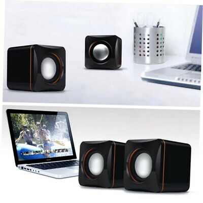New Portable USB Audio Music Player Double Speaker for iPhone iPad MP3 Laptop PC