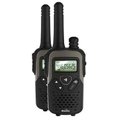 Binatone Action 1100 Black Twin Pack Walkie Talkie With Upto 10 km Range