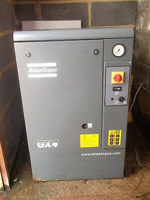 Atlas Copco GX4 Air Compressor