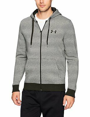 Under Armour Apparel Mens Rival Fleece Fitted Full Zip Hoodie Pick SZ//Color.