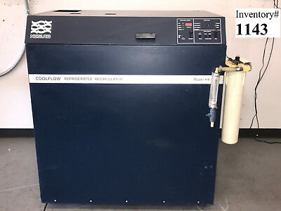 Neslab HX-750 Chiller 367205080304 Water Cooled 230V 34 Amp (tested working, 90