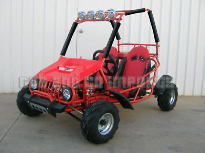 Dune Buggy 150cc Twin Seat 3 SPD + Reverse Off Road GoKart GKT150 RED