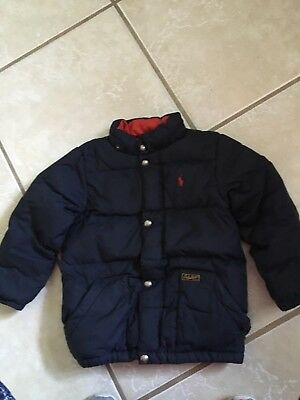 Boys Polo Ralph Lauren Down Coat Jacket size 6