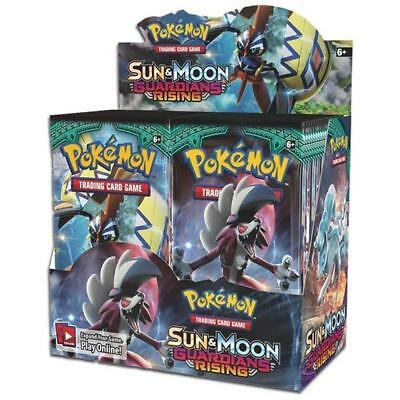 Pokemon TCG Sun & Moon Guardians Rising Sealed Booster Box (36 Booster Packs)