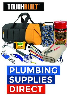 * Home Owners Starter Tool Bag with Tools - Complete  DIY Tool kit -Toughbuilt