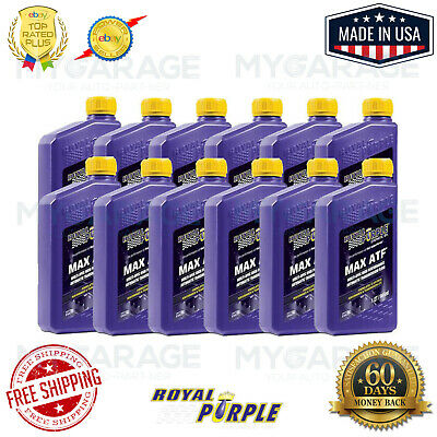 Royal Purple 01320  MAX ATF Synthetic Automatic Transmission Fluid 12-Qt