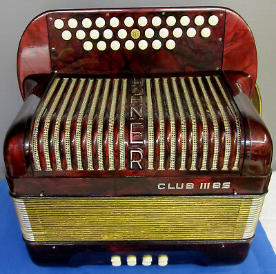 Hohner Akkordeon Club lll BS, ca. 1932/36