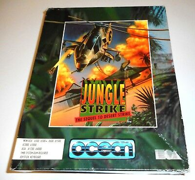 Jungle Strike (Ocean) (Amiga) (1994) [ECS/OCS]