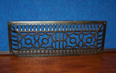 """Antique Vintage Cast Iron Wall Floor Baseboard Vent 15"""""""