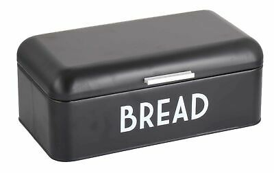 Home Basics Metal Bread Box, Black - BB47453