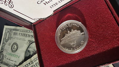 Silver Proof 1/2$ George Washington Half Dollar 1732-1982 'S'+FREE 2x BANK NOTES