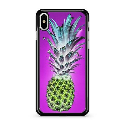 Spiky Colourful Blue Mixed Yellow Pineapple Tropical Fruit 2D Phone Case Cover