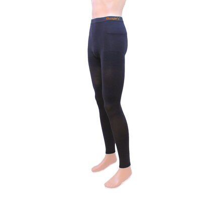 49170946b2db7 Besjex Opaque Graduated Therapeutic Footless Compression Pantyhose 20-30  mmHg