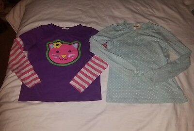Girls 7/8 Shirt LOT *Mini Boden & Matilda Jane*
