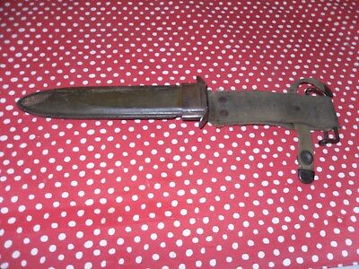 Wwii Us M8 B.m.co. Trench Knife  Scabbard(Only)