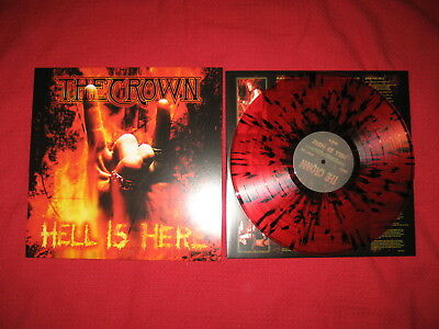 THE CROWN Hell Is Here LP NOTVD 1st PRS at the gates eucharist dissection watain