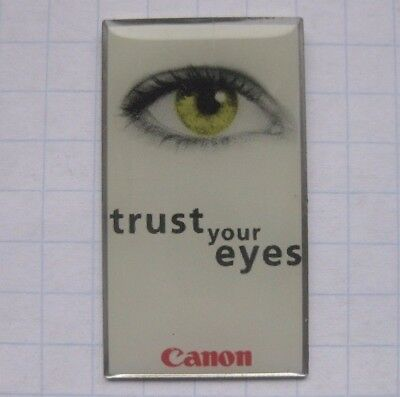 CANON / TRUST YOUR EYES .................. Pin (162e)