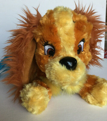 Disney PARKS Exclusive LADY FROM LADY AND THE TRAMP Stuffed Plush Stuffed Dog