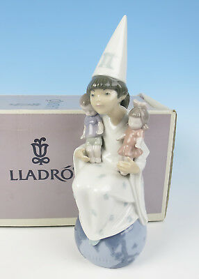 MIB Lladro GEMINI Figurine 6219 Astrology Horoscope Porcelain Doll Birthday Gift