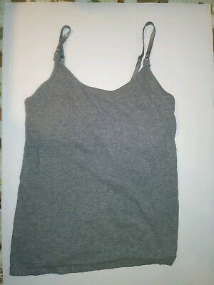Motherhood Maternity Gray Nursing Tank Top Size Small