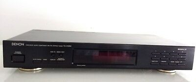 DENON Tuner TU-215RD AM/FM RDS Stereo Tuner - Made in Germany