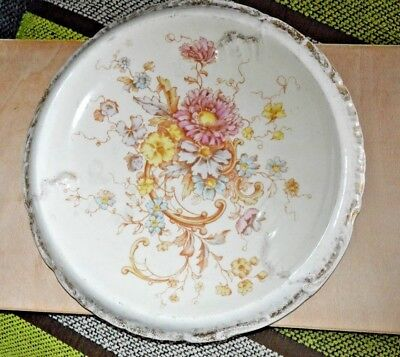Crown Devon Fieldings bread plate - Sevres pattern