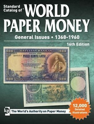 Krause Standard Catalog Of World Paper Money 1368-1960 16Th Edition Free Ship!!