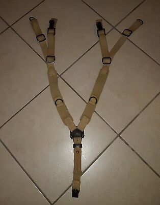 WW2 Reproduction German Tropical Y-Straps