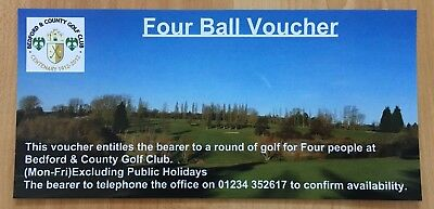 Golf Voucher For 4 People At Bedford And County Golf Course