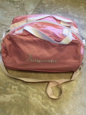Capezio Pink Ballet Bag Leaping Lena, Good Used Condition