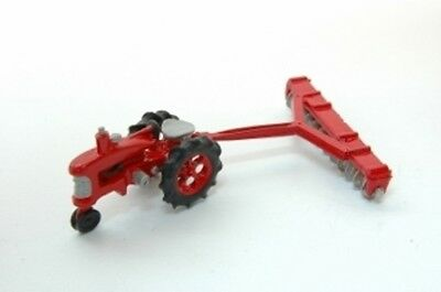 JL Innovative #343 Tractor and Disc Kit - unpainted - HO Model Trains