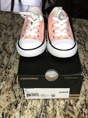 toddler converse shoes size 7 For Girls