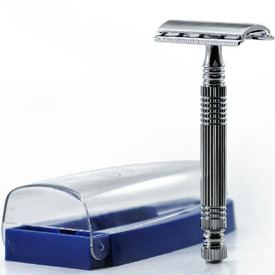 Vintage Useful Durable Men's Manual Hand Safety Razor Double Edge Shaver