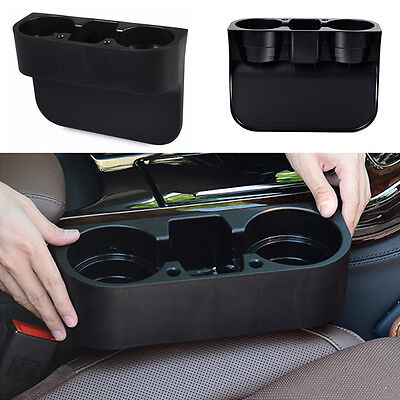 Large Car Van Storage Drinking Bottle Can Cup Mug Mount Holder Stand Black UK
