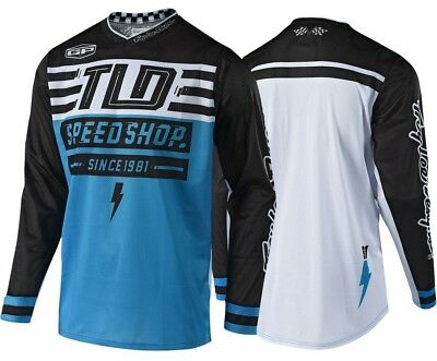 2018 Troy Lee Designs (Tld) Gp Air Bolt Jersey Blue Medium 304190303