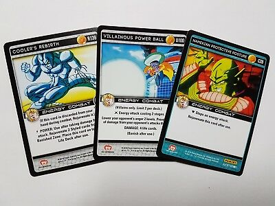 Dragon Ball Z Vengeance - Common, Uncommon, Rare - YOU PICK FROM LIST