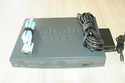 CISCO887VA-M-K9 Intergrated Services Router VDSL2/ADSL2+ Latest IOS NBN Firmware