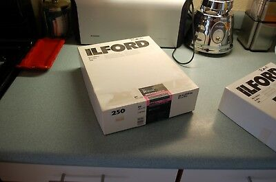 OPENED box of Ilford Multigrade III RC 200 sheets