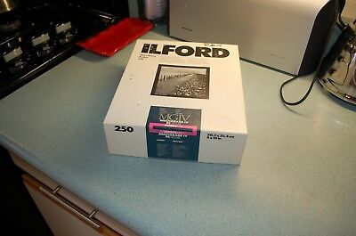 OPENED box of Ilford Multigrade III RC 150 sheets