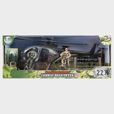 NEW 1:18 World Peacekeepers - Combat Helicopter 77031