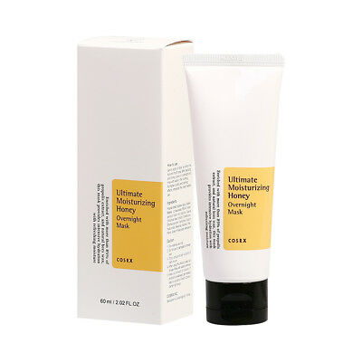 [COSRX] Ultimate Moisturizing Honey Overnight Mask - 60ml (New)